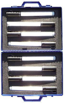 Blue/Red Traffic Baton Case of 8 Units - Click Image to Close